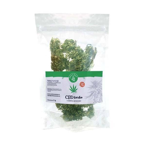 CBD kvety 7%, 5 g